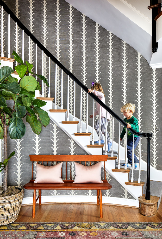 Inspiration for a timeless staircase remodel in DC Metro