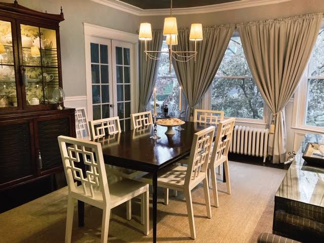 Transitional Dining Room - Watch Hill, RI