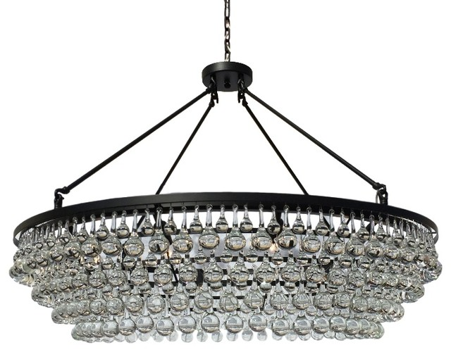 Celeste Extra Large Crystal Chandelier Contemporary Chandeliers