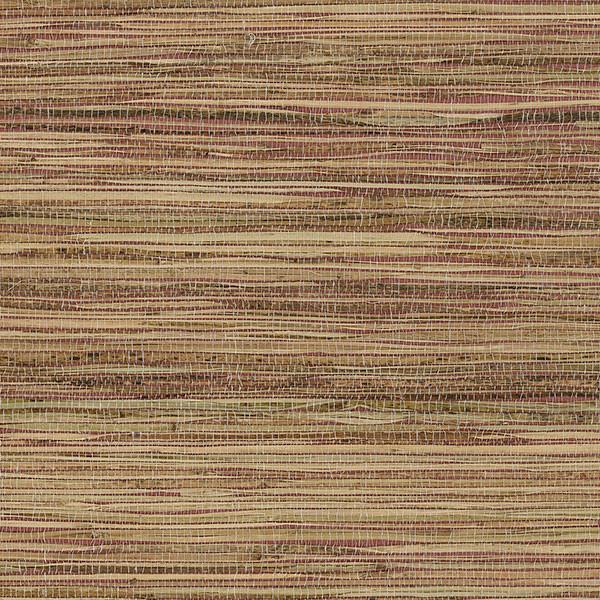 Red Grasscloth Wallpaper: Natural Raw Jute Grasscloth Wallpaper