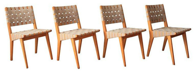 Vintage Knoll Chairs By Jens Risom   Set Of 4