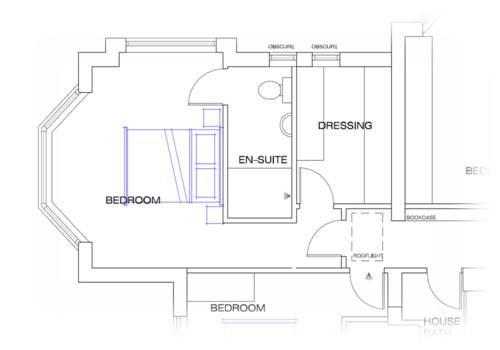 Layout Of Master Suite Bedroom Ensuite Walk In Wardrobe