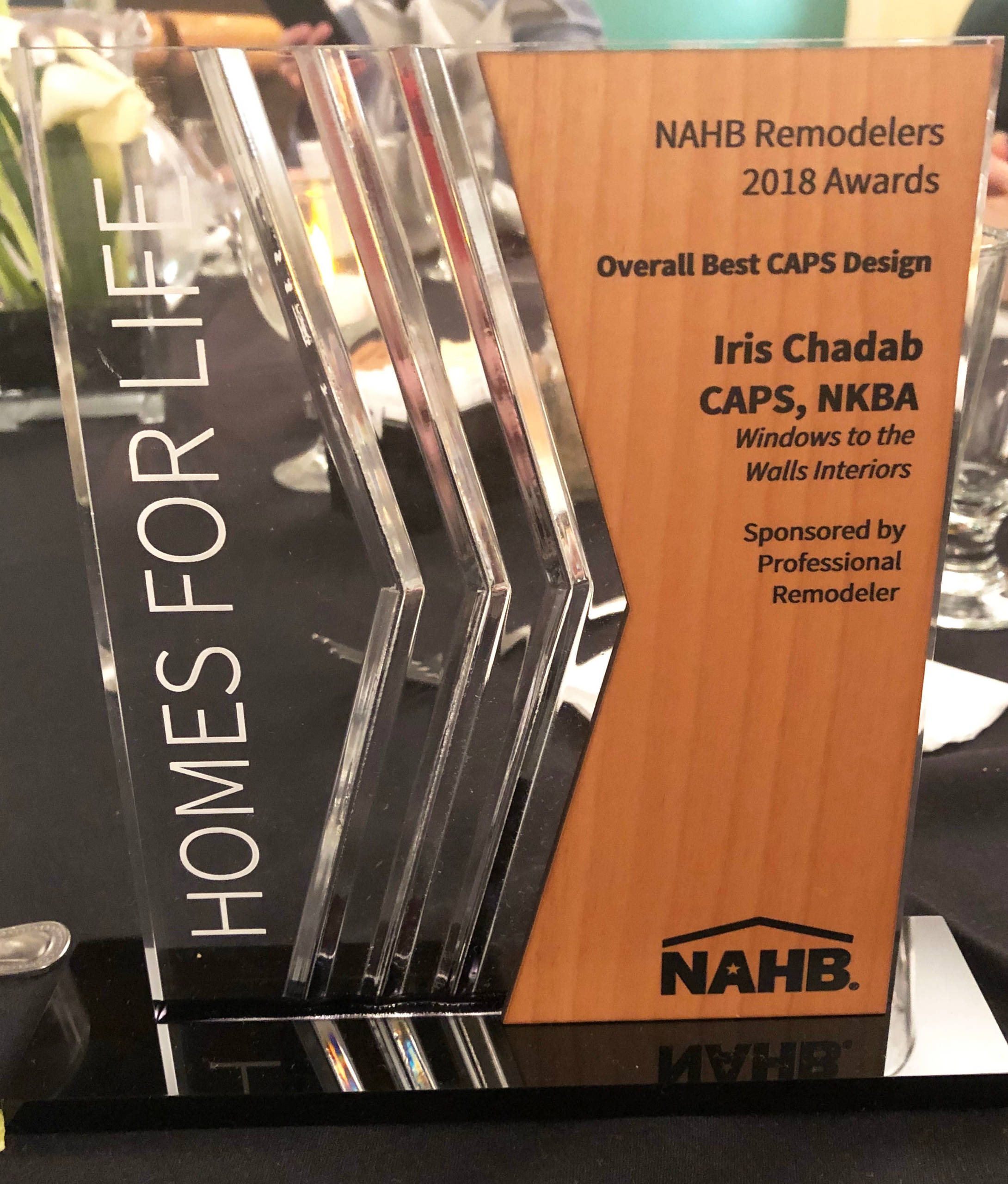 Homes for Life Award- Overall Best CAPS Design 2018