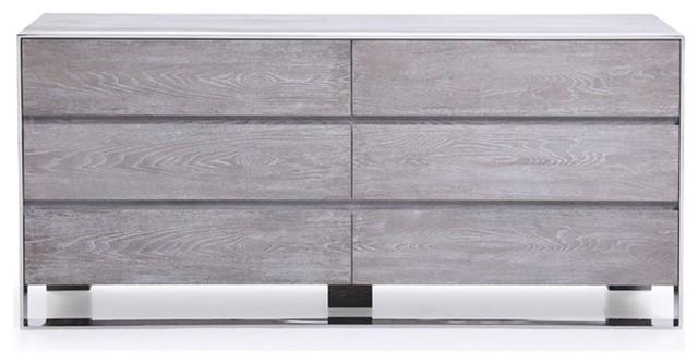 Modrest Arlene Modern Gray Elm Dresser