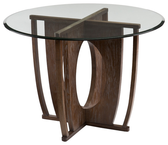 Upton Home Andrea Dining Table Contemporary Dining Tables By