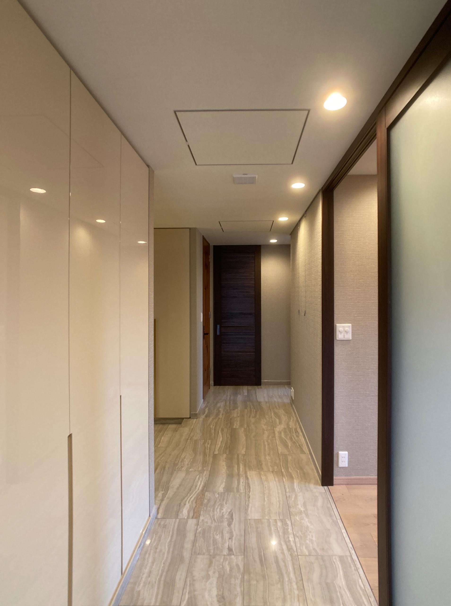 Simple Beige Residence