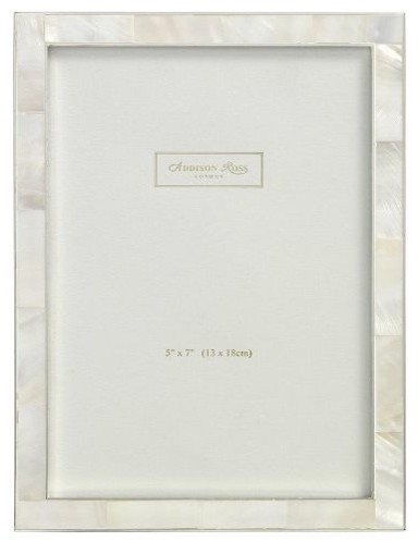 5x7 Photo Frame Addison Ross Silver Plate 15mm Curved 5 x 7 Inches