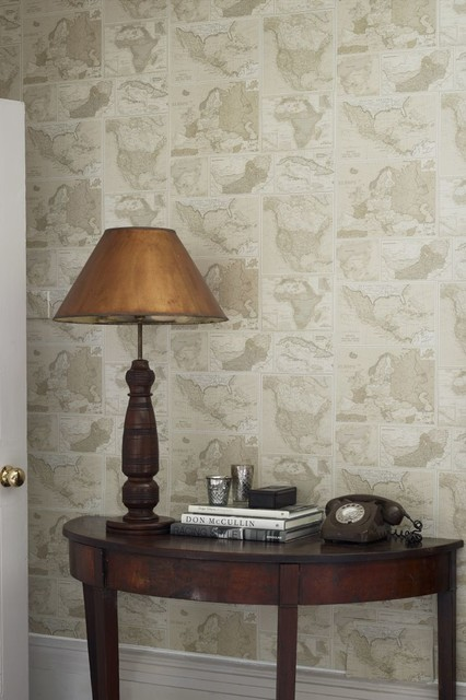 Hallway Wallpaper Ideas Traditional amp Landing