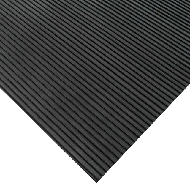 Ramp Cleat Rubber Floor Mat 1 8 Inchx3 Runners Offered In 6 Lengths Contemporary Doormats By Cal