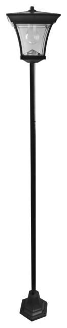 Solar Garden Lamp Post.