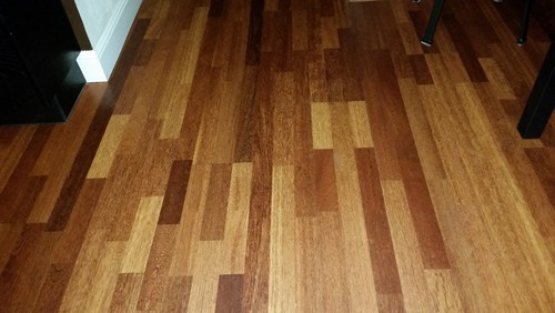 Different hardwood floors on each level for Different colors of hardwood floors