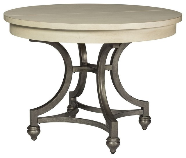 Liberty Furniture Harbor View Iii Round Dining Table Dove