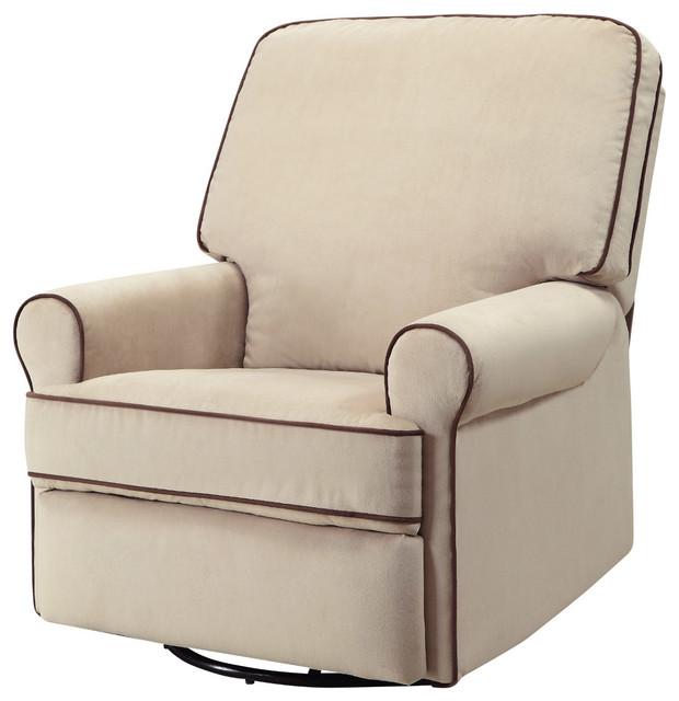 Fantastic Pri Birch Hill Swivel Glider Recliner In Stella Doe Coffee Lamtechconsult Wood Chair Design Ideas Lamtechconsultcom