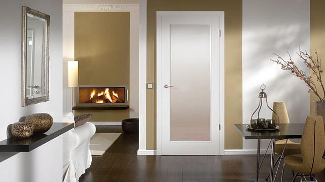 HD wallpapers living room wooden doors
