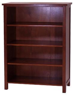 """Oakdale 4-Tier Bookcase, 48.75"""" Tall"""