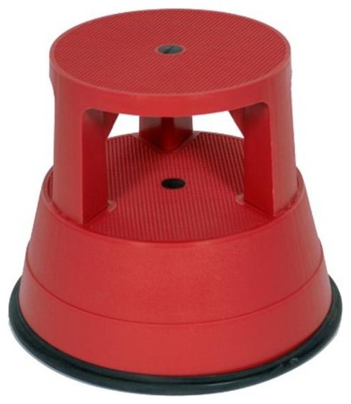 Core Distribution Stable Step Stool, Red.