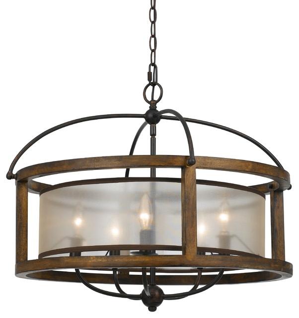 Wooden chandelier lighting Outdoor Wood Houzz Round Wood Chandelier Chandeliers By Modern Decor Home