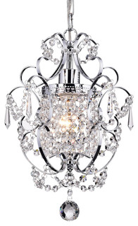 Lucille mini chandelier traditional chandeliers by edvivi lighting aloadofball Gallery