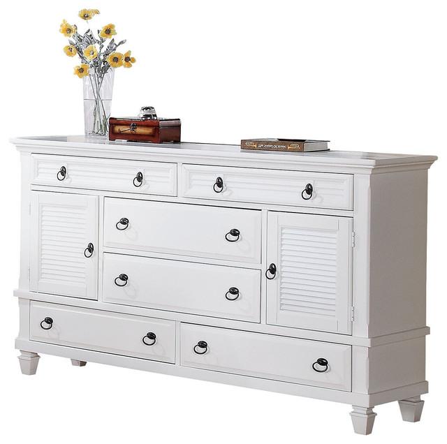 Merivale Dresser, White