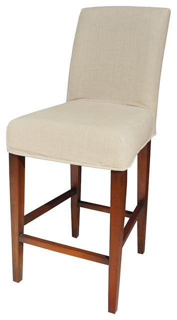 Incredible Sterling 7011 119 B Couture Covers Parsons Barstool Cover Light Cream Evergreenethics Interior Chair Design Evergreenethicsorg