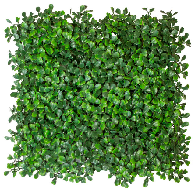 Artificial Boxwood Hedge Mat Uv Rated Medium 10 Piece 25