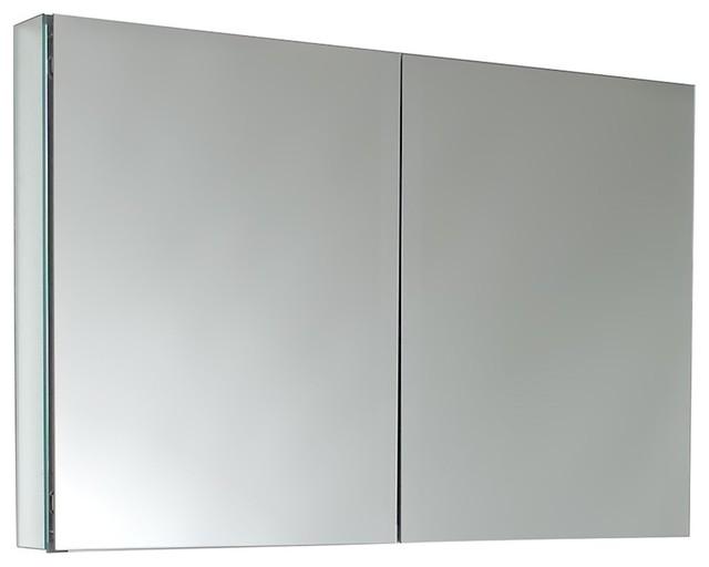 Bathroom Medicine Cabinets.Fresca 40 Wide Bathroom Medicine Cabinet With Mirrors