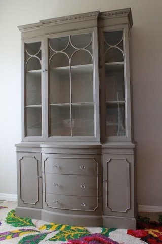 Vintage China Cabinet - Traditional - China Cabinets And Hutches - Austin - by Nod to the Past