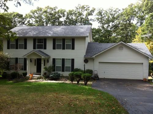Siding options colors stone brick accents for Half brick half siding house