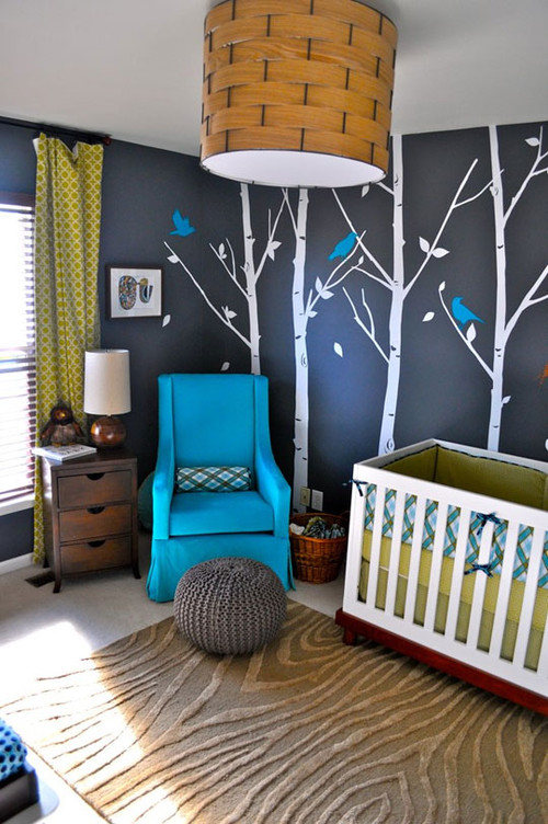 Woodsy Modern Nursery modern kids