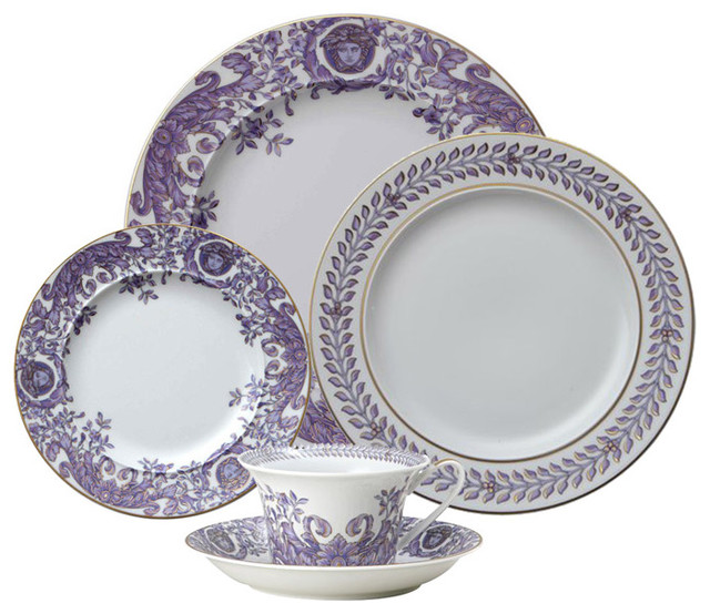 Versace Le Grand Divertisser 5 Pc. Place Setting traditional-dinnerware-sets