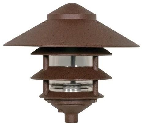 "4 Louver Large 10"" Top Pagoda."