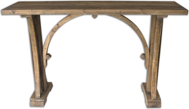 Genessis Reclaimed Wood Console Table  Natural transitional console tables. Genessis Reclaimed Wood Console Table   Transitional   Console