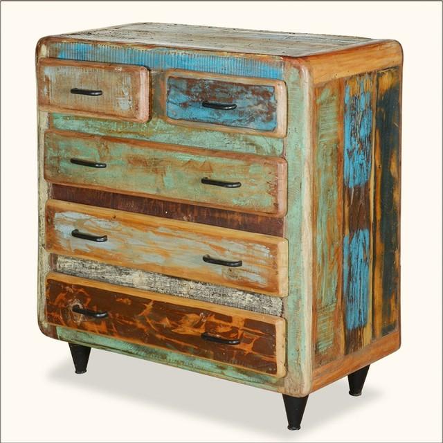 Wonderful Appalachian Rustic Painted Reclaimed Wood Furniture Bedroom Dresser  Eclectic Dressers