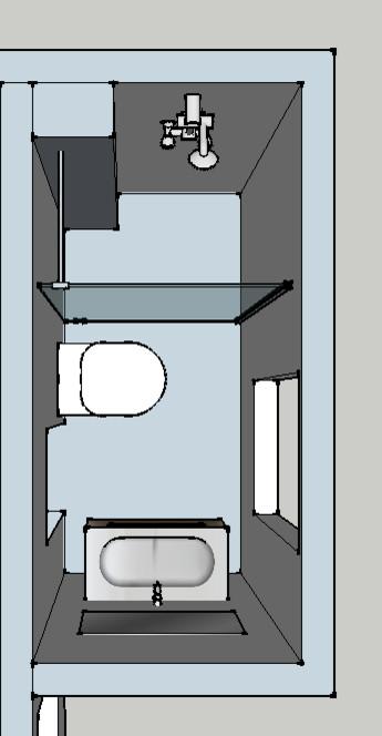 besoin de conseils pour une mini salle de bain. Black Bedroom Furniture Sets. Home Design Ideas