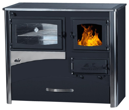 Wood Coal Burning Cook Stove Concept 2 Air Right Flue