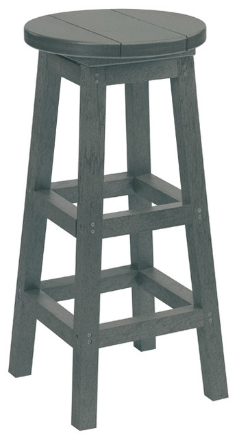 Tremendous Generations Swivel Bar Stool Slate Gray Unemploymentrelief Wooden Chair Designs For Living Room Unemploymentrelieforg
