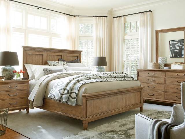 modern muse bedroom set - beach style - bedroom - miami -el