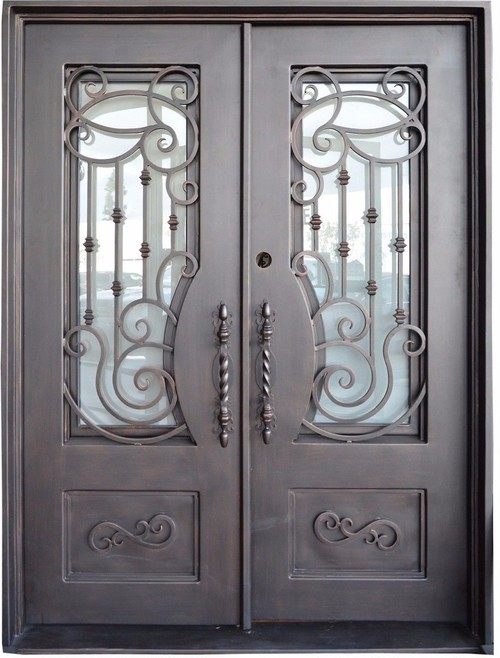 What Material Are The Doors Made From Besides The Glass