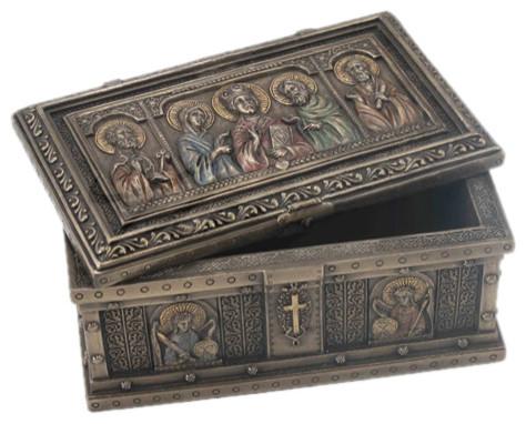 Catholic Saints Trinket Box, Religious