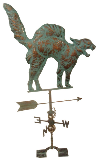 LARGE Handcrafted 3D 3-Dimensional WHALE Weathervane Copper Patina Finish