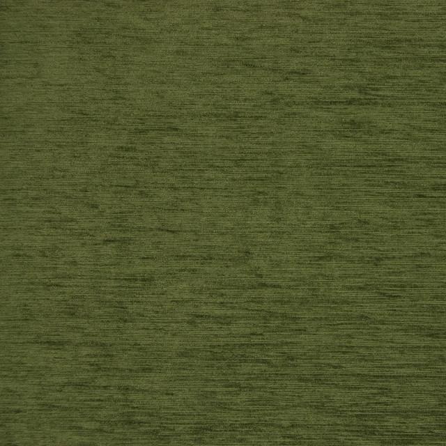 Moss Green Solid Velvet Texture Upholstery Fabric