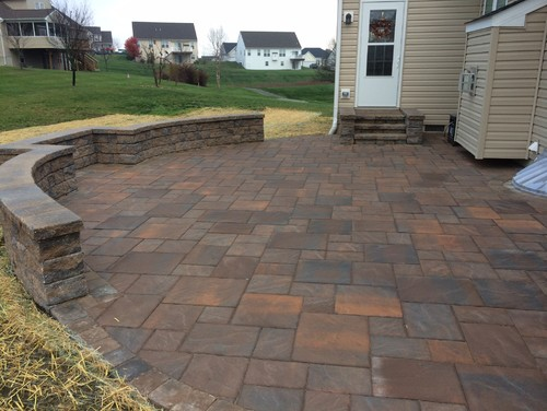 Ep Henry Quot Bristol Stone Quot Paver Patio Installed In Avondale Pa