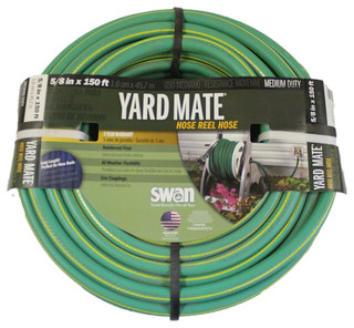 Swan Yardmate Hose Reel Hose 5 8 In X 150 Ft Garden Hose