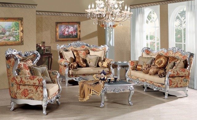 Fleur De France Luxury Living Room Sofa Set Victorian Living Room Furniture