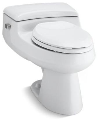 Wondrous Kohler San Raphael 1 Piece Elongated 1 0 Gpf Toilet W Left Hand Lever White Beatyapartments Chair Design Images Beatyapartmentscom