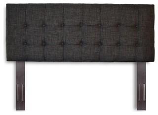 FBG Covington Upholstered Headboard Panel, Carbon Gray, Full/Queen, B72911