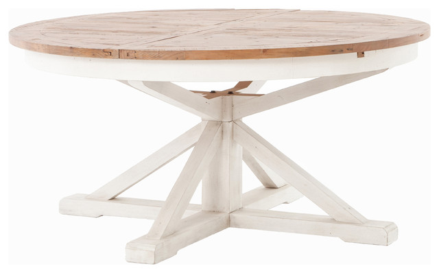 Cintra Extension Dining Table 63 Farmhouse Tables By The Khazana Home Austin Furniture
