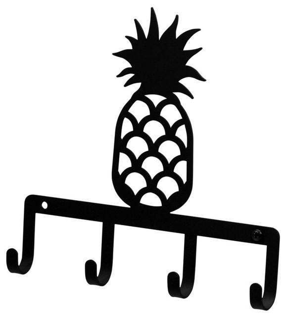 Wrought Iron Pineapple Key Holder Key Hooks.