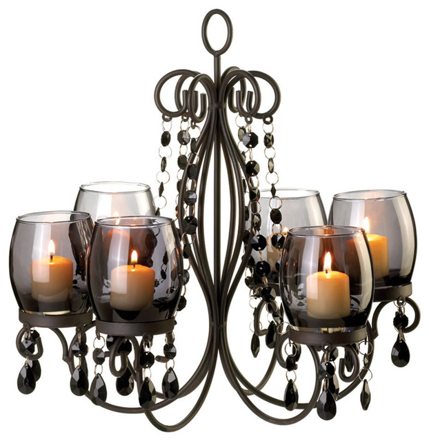Midnight Elegance Chandelier