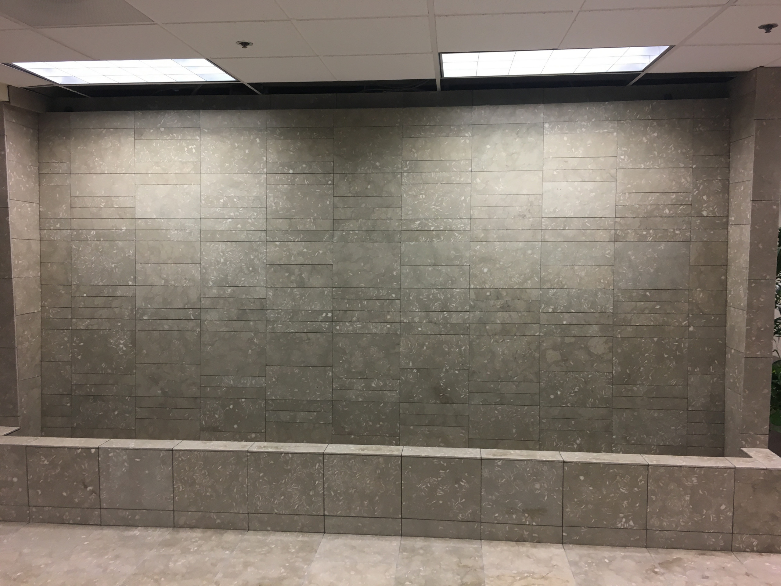 Water fall wall in Irvine Medical Office